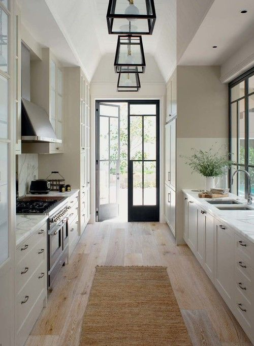 19 Best Images About Galley Kitchen On Pinterest  Home Galley Captivating Designer Galley Kitchens Decorating Inspiration