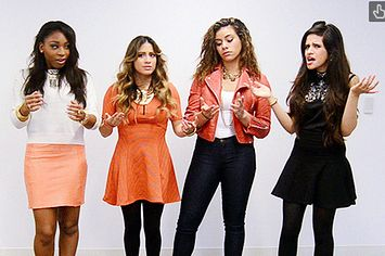 <b>When the girls stopped by the BuzzFeed offices we couldn't let them leave without living through some real life scenarios.</b>