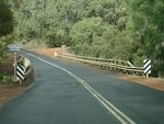 Not a favourite place! Rooney's Bridge on the Manjimup-Walpole Rd one of the most dangerous spots in the 120km road.