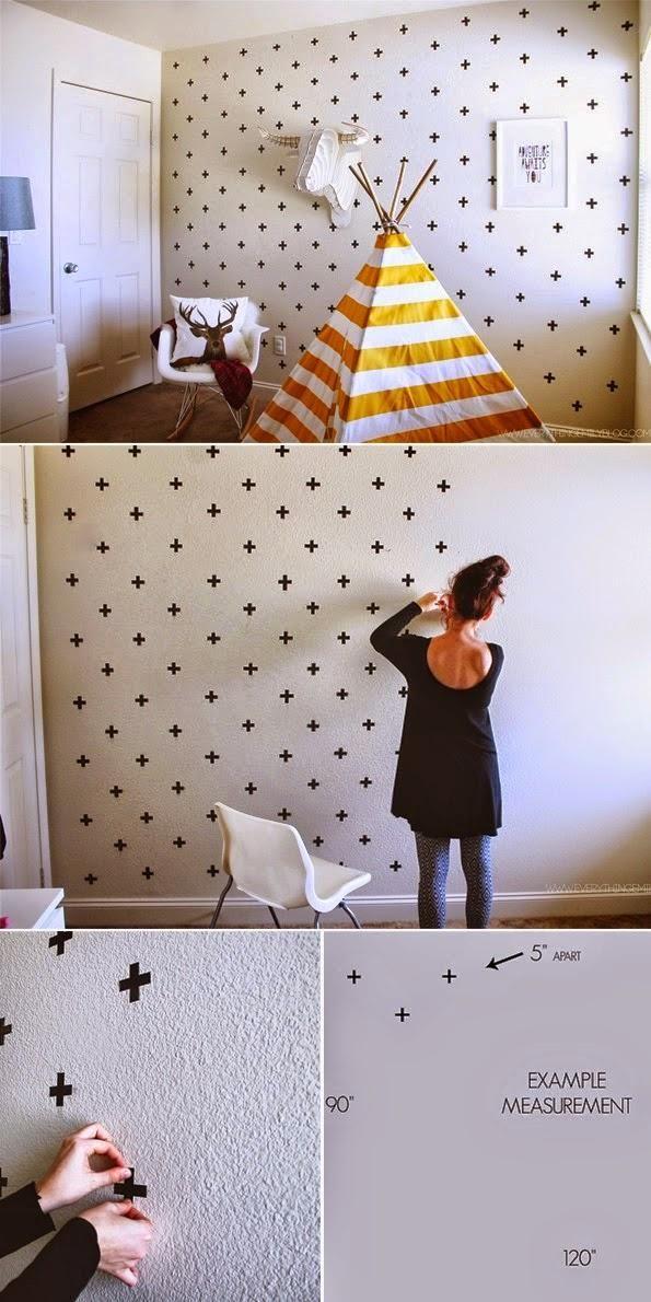 diy-decorar-pared-washi-tape-estilo-nordico-pegatinas-adhesivo-vinilo