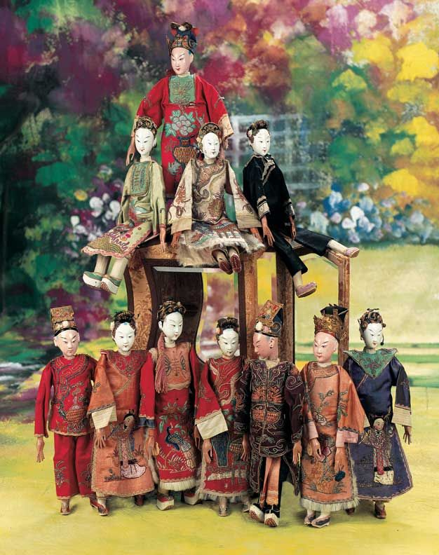 chinese opera dolls