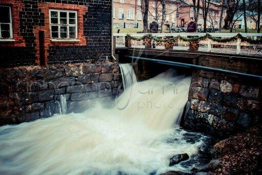 Fiskars Village in Raseborg, Finland