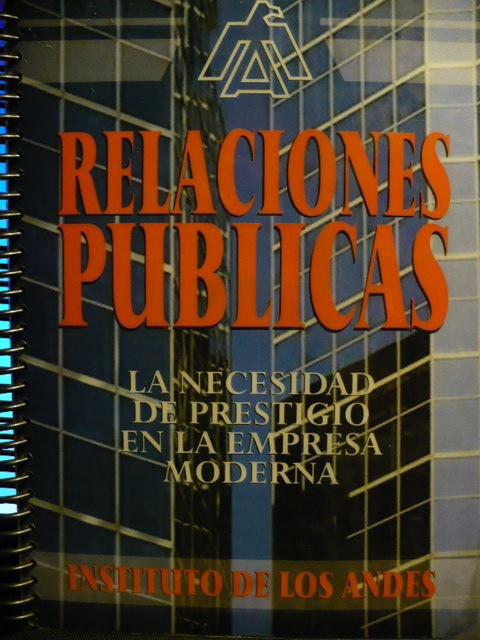 RELACIONES PUBLICAS - LIBRO DEL INSTITUTO DE LOS ANDES