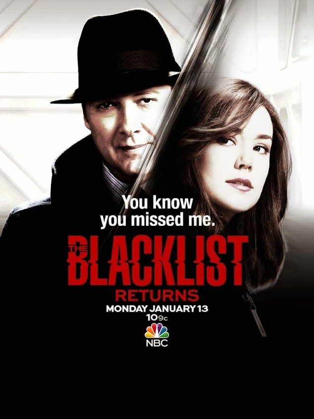 The Blacklist...absolutely love this show!!!!!