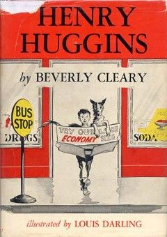 {Our Current Read Aloud}   I am introducing my almost 5 year old to the joys of Beverly Cleary's Henry Huggins.