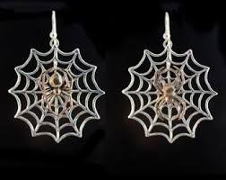 Image result for spider girl earrings silver