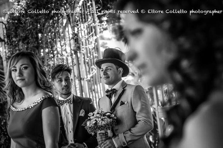 Vedendo avvicinare la futura moglie gli occhi diventan lucidi......  Ettore Colletto - fotografo per matrimoni