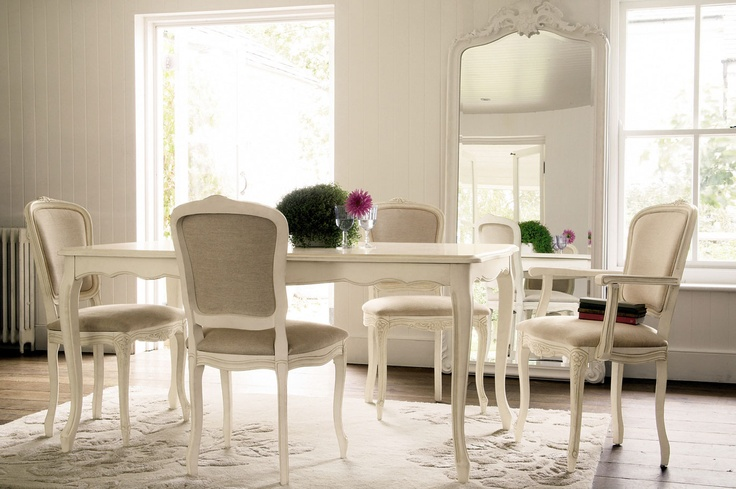 Quot Provencale Quot Extended Dining Table In Ivory From Laura