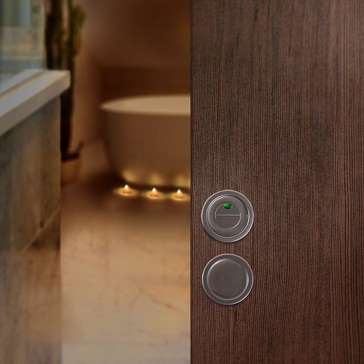 WC-beslag för skjutdörr