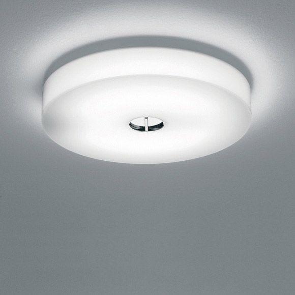 Button HL lampe, hvit - Piero Lissoni - Flos - RoyalDesign.no DIameter 470mm, 3850,-