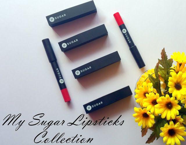 Scribbles & Sparkles: My Sugar Lipsticks Collection