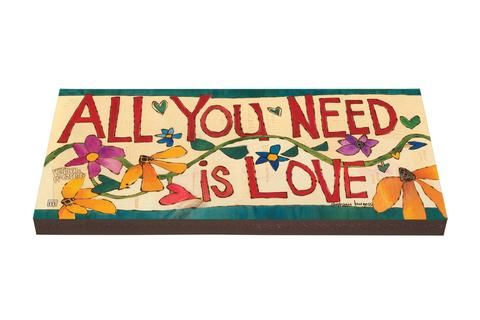 All You Need Is Love Outdoor Wall Art Plank New Outdoor Wall Art All You Need Is Love Garden Steps