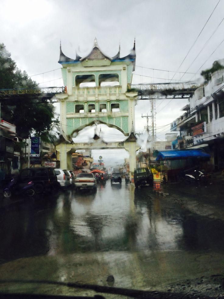 Jembatan limape - bukti tinggi - Sumatra Barat