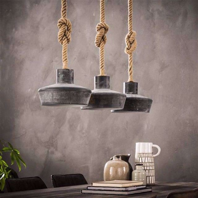 Touw Lamp Maken In 2020 Pendant Light Light Hanging Lamp