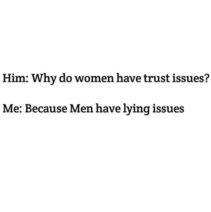 Lying issues