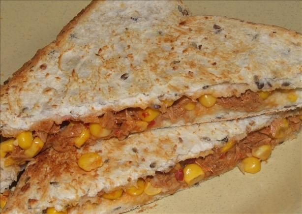 Tuna and Corn Jaffles