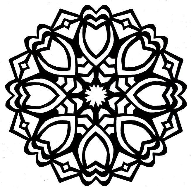 mandala coloring pages meditation