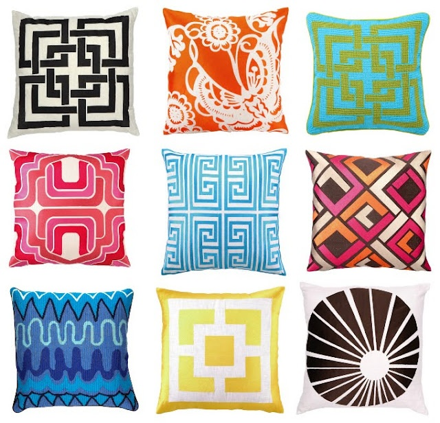 Trina Turk Home Collection, pops of color