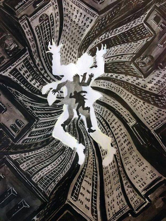 Hitchcock's Vertigo by Brian Level *
