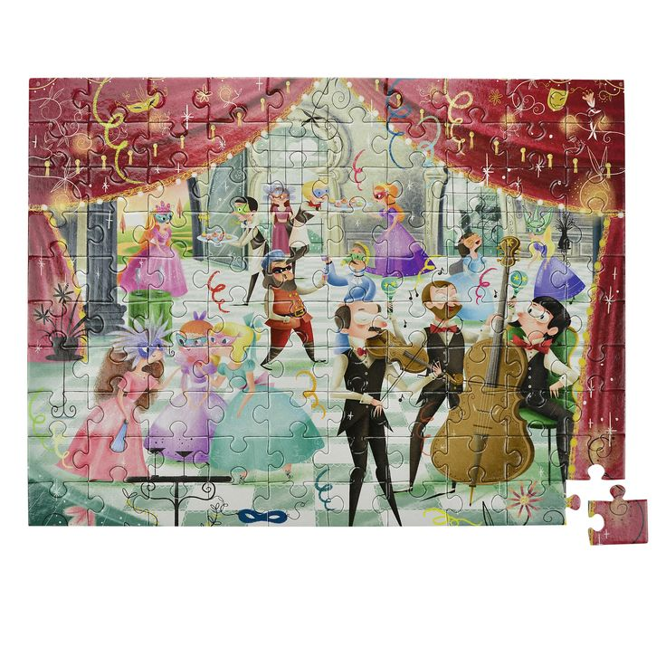 Gorgeous illustrations on these puzzles..