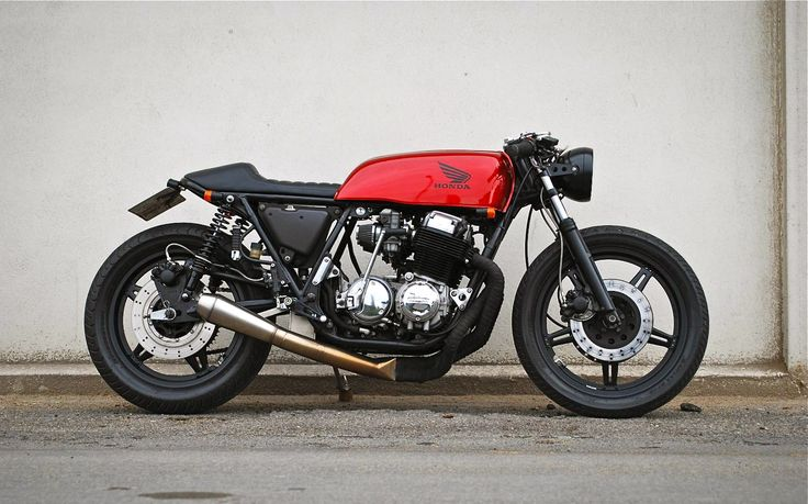 A perfect 1977 CB750 cafe racer, Wrenchmonkees' style by Frederik Christensen from Denmark