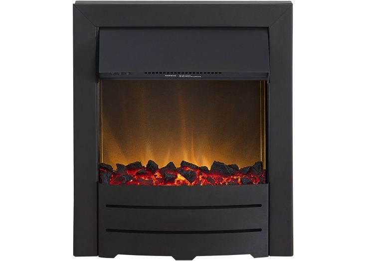 Adam Colorado Electric Fire in Black | Fireplace World
