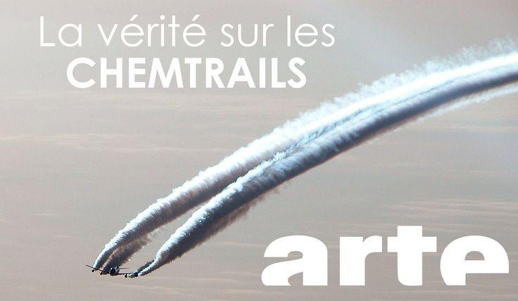 ENFIN LA VÉRITÉ sur les Chemtrails : Arte brise l'omerta