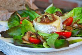 Een tijdje geleden plaatste ik een recept voor een salade Val-Dieu  op mijn blog. Niet veel later kreeg ik van een vriendin een foto toeges...