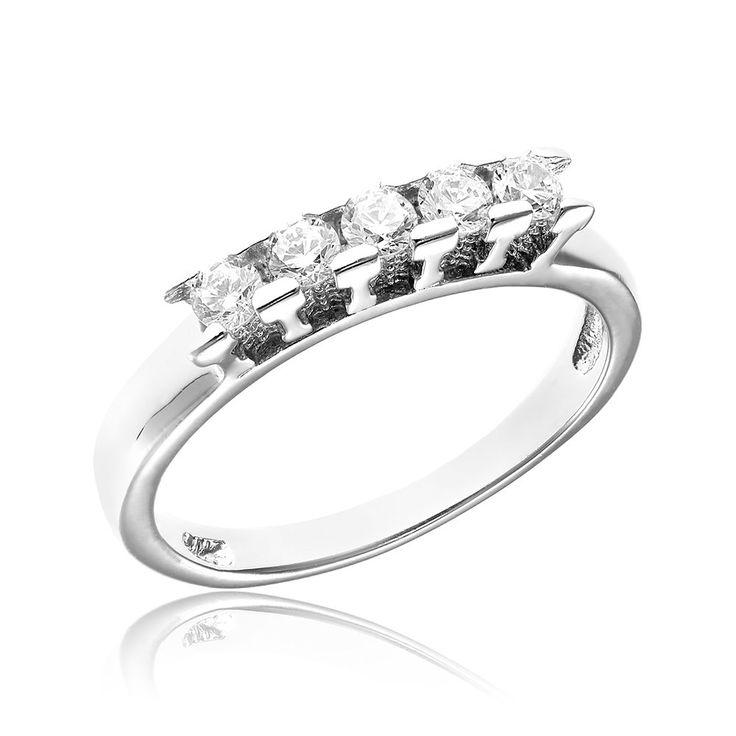 Inel argint cu 5 cristale briliant din zirconiu Cod TRSR099 Check more at https://www.corelle.ro/produse/bijuterii/inele-argint/inel-argint-cu-5-cristale-briliant-din-zirconiu-cod-trsr099/