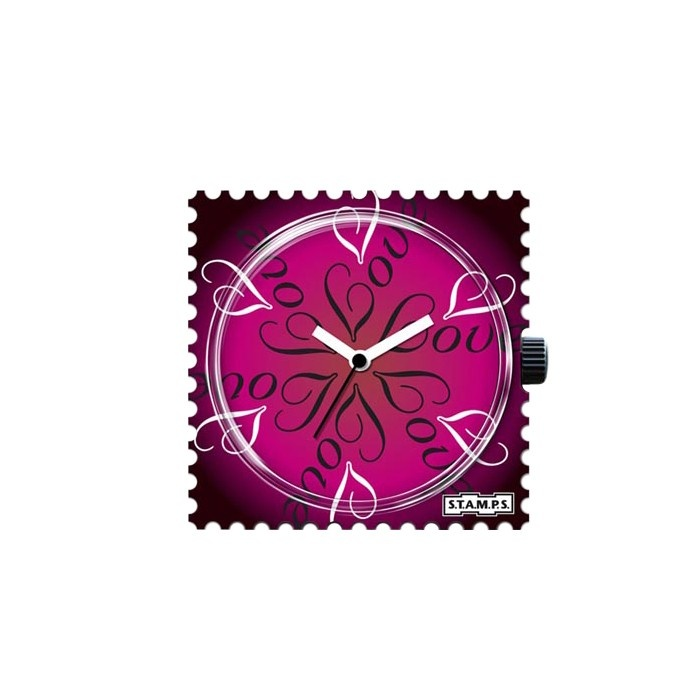 Relógio S.T.A.M.P.S. Round Love R$89.00