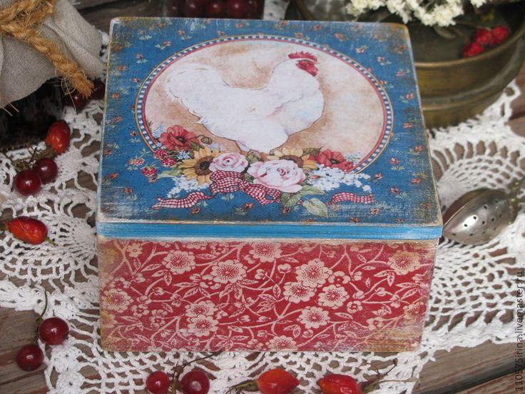 Купить или заказать ' Village bouquet.....'  Короб. в интернет-магазине на Ярмарке Мастеров. Короб в стиле Кантри. Прекрасное дополнение и украшение кухни, дома, дачи в деревенском стиле. Подойдет для хранения трав, специй, чая, кофе, сухофруктов, орехов. Внутри к…