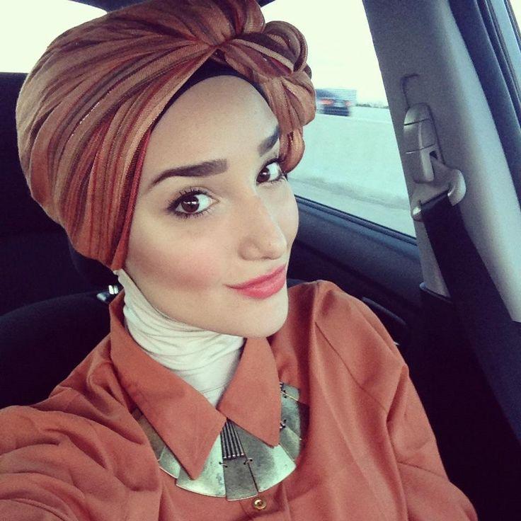 head turban hijab - Google Search