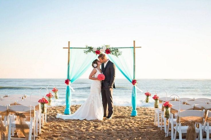 23 Best Beach Ceremony Setups Images On Pinterest