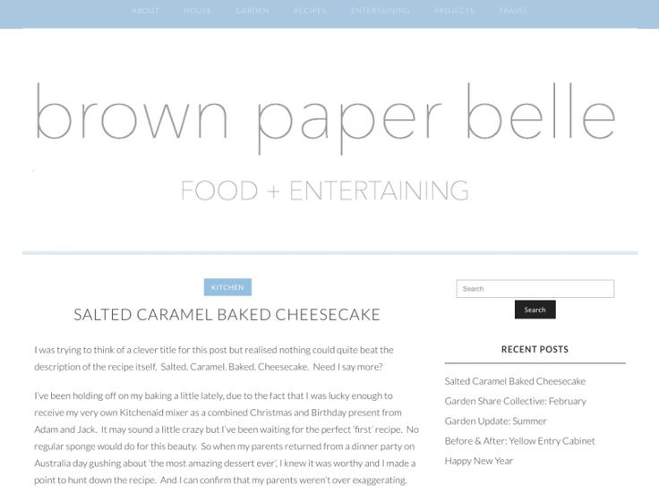 Bloglovin' Brown Paper Belle - nooks & cranny