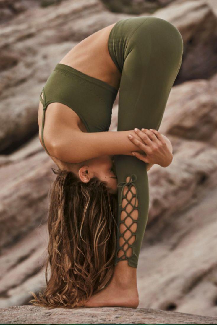 Lace-up Leggings: Free People On Tour Legging $68