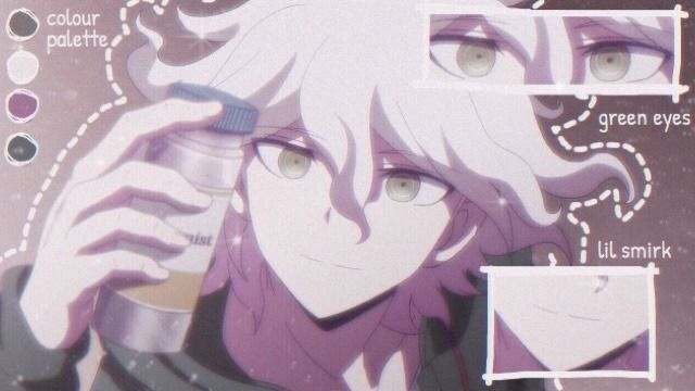 You Can Call Me Rez Or Miki Whatever S Easier In 2020 Nagito Komaeda Danganronpa Aesthetic Anime