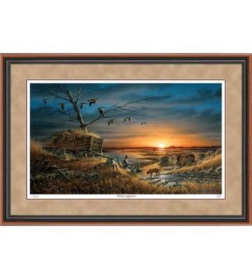 terry redlin lifetime companions framed print