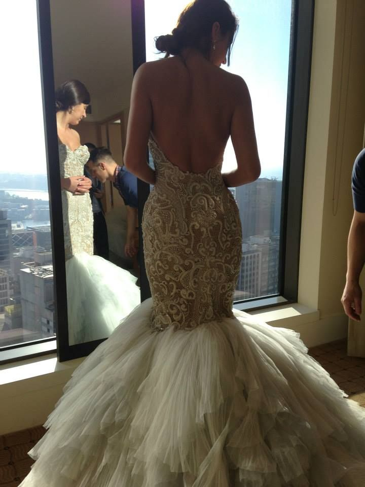 Love the bustier but with a ball gown cut-J'aton Couture