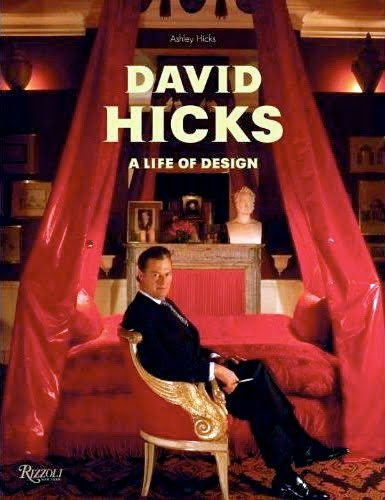 David Hicks book---wonderful interior design book/ fascinating life story of very gifted designer.