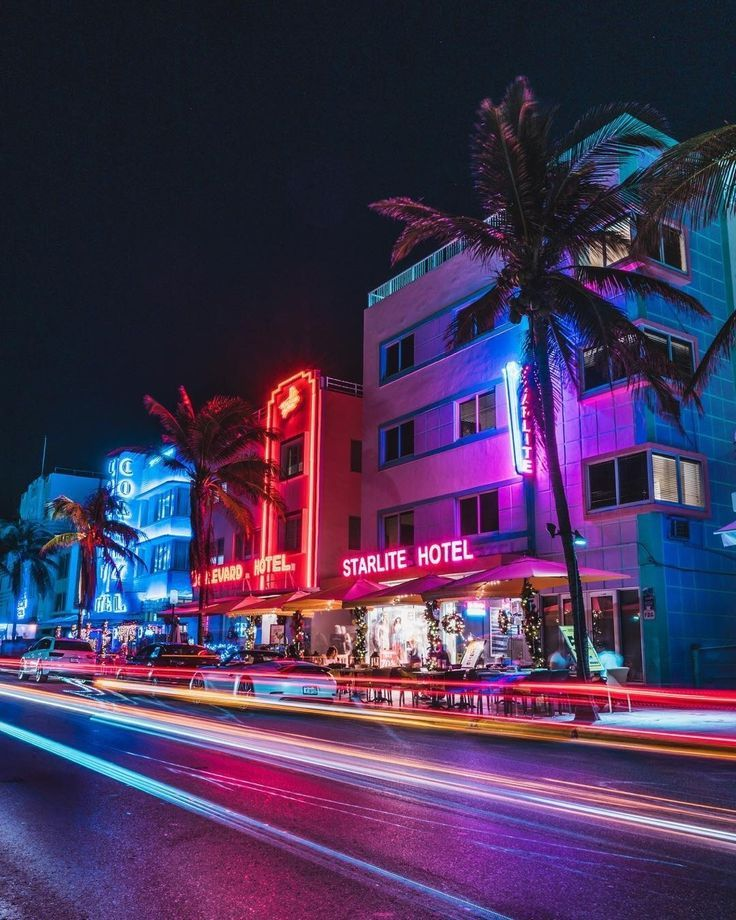 Ocean Drive Miami Beach Fl By Diego Meneses With Images