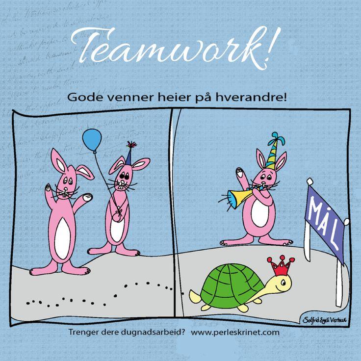 Samarbeid er nøkkelen til suksess!
