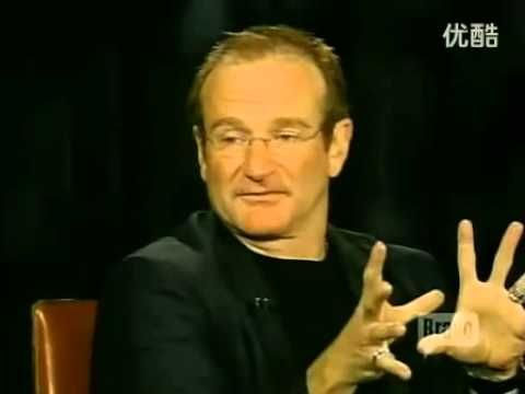 Robin Williams - Inside The Actors Studio - FULL Video Best interview ever!! If you are looking to laugh until you cry or just need something to brighten your day, watch this video!! This is how we should all remember him :)