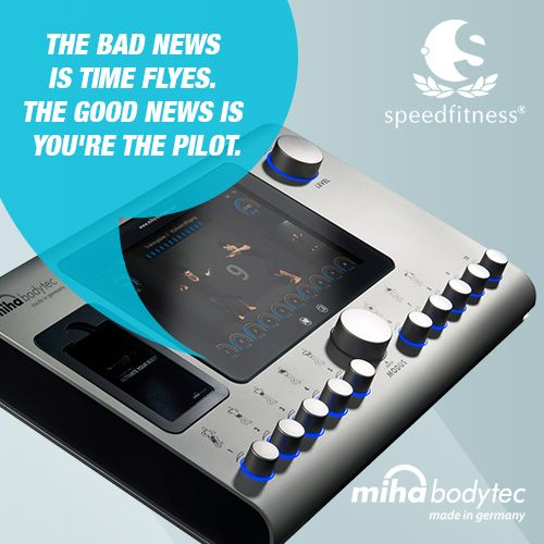 Whole body training by pressing a button! #mihabodytec #mihabodytecII #emsworkout #personaltraining #bodyshaping #weightloss #musclebuliding #electrostimulation More information: www.miha-bodytec.com www.speedfitness.com