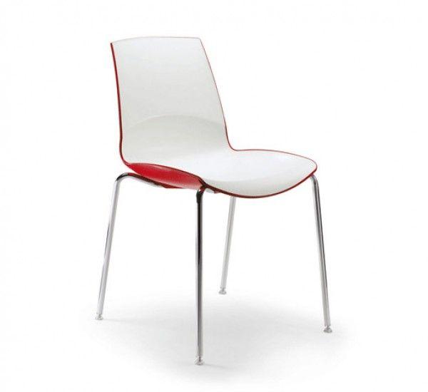Now è una sedia di Sandonà e Sandrin per Infiniti, monoscocca in polipropilene caricato fibradi vetro.Telaio quattro gambe in acciaio cromato, piedinisnodati, con o senza braccioli. Now è una sedia dalle curve morbide ed essenziali. Leggera e impilabile fino a otto sedie ne assicura la praticità. Per l'ambiente domestico, ma anche per ristoranti, bistrot e bar, può essere una buona scelta per creare un ambiente dinamico nei colori e nella forma.