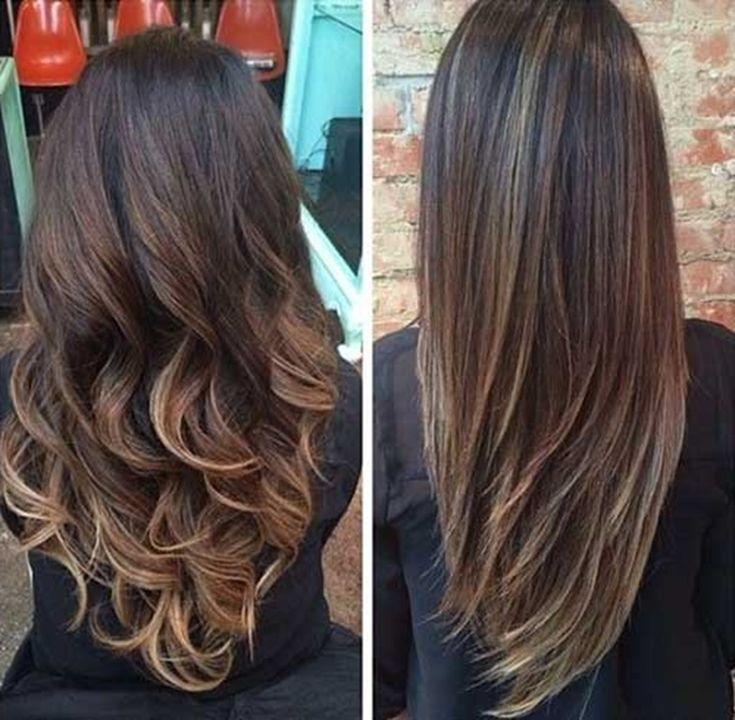 V Schnitt für Lange Haare – kurzhaarfrisuren