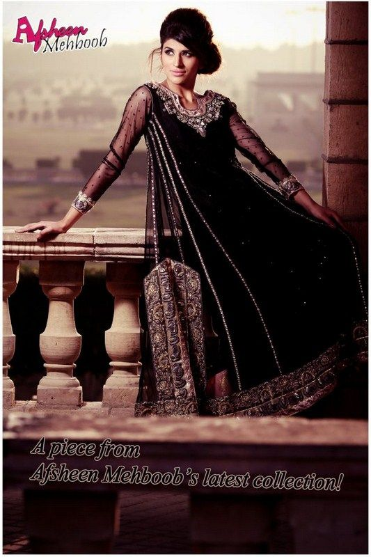 Afsheen Mehboob Semi-Formal Wear Collection 2013 For Women