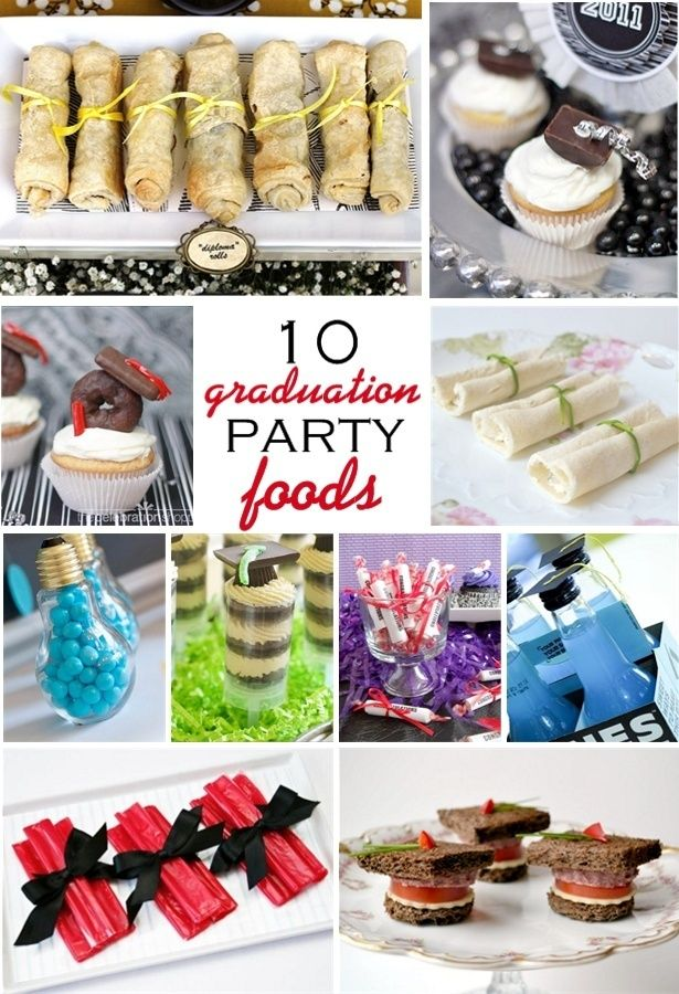 10 yummy graduation party ideas food drink pinterest for Party food and drink ideas