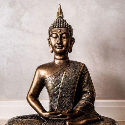 11 besten Buddha Kopf Figuren Buddha Deko asiatische - wohnzimmer ideen buddha
