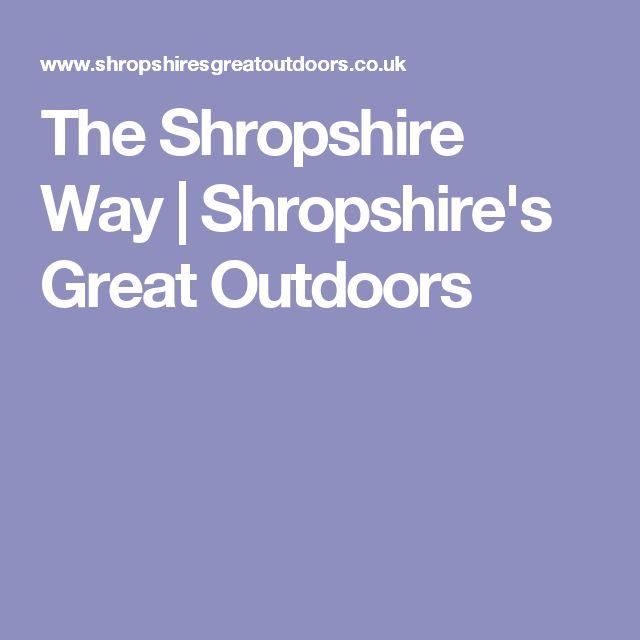 The Shropshire Way | Shropshire's Great Outdoors