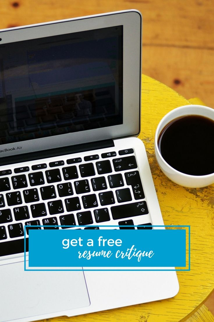 Resume Tip Get a free resume critique